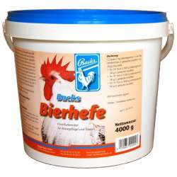 Backs Bierhefe 4 kg